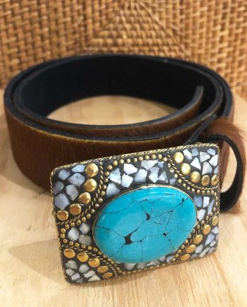 Cow Hide Leather Belt