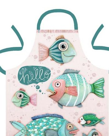 Hello Fish Apron