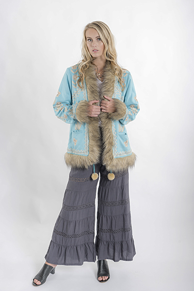 Tropez Pants Charcoal