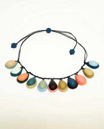 Cowrie Resin Necklace