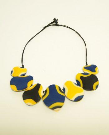 Mustard Resin Necklace
