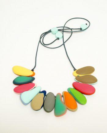 Multi Resin Necklace