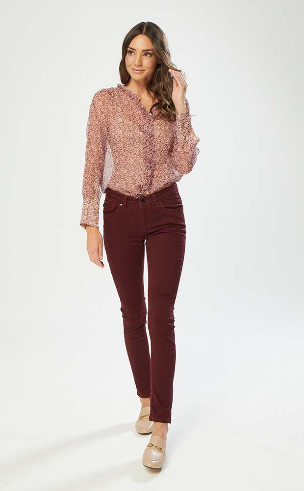 New London Jeans Plum