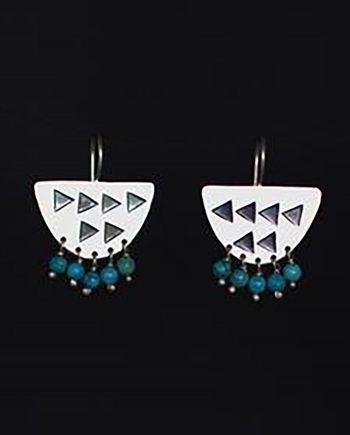 modern tribal earrings