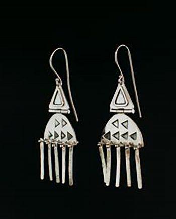 queen of tribe earrings