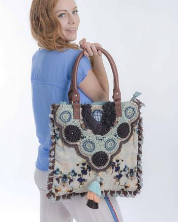 Large Velvet Bag